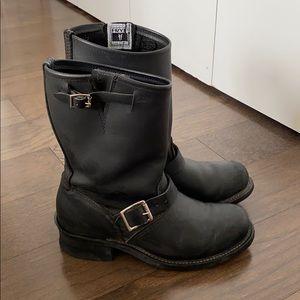 Frye Engineer Boot in Black